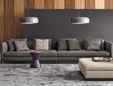 Итальянская мягкая мебель ANDERSEN SLIM 01 фабрики MINOTTI