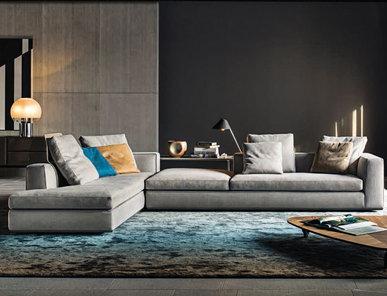 Итальянская мягкая мебель POWELL 02 фабрики MINOTTI