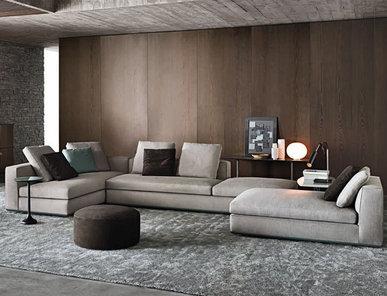Итальянская мягкая мебель POWELL 03 фабрики MINOTTI