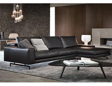 Итальянская мягкая мебель SHERMAN 01 фабрики MINOTTI