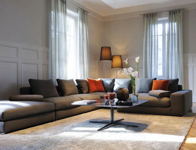 Итальянская мягкая мебель JAGGER 02 фабрики MINOTTI