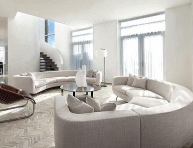 Итальянская мягкая мебель DUBUFFET 02 фабрики MINOTTI