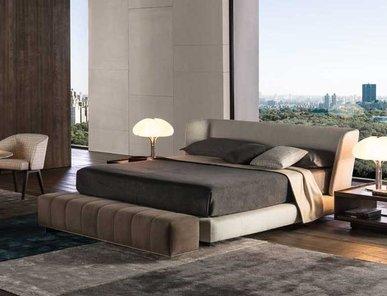 Итальянская кровать CREED фабрики MINOTTI
