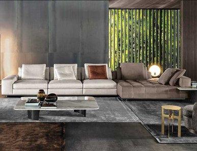 Итальянская мягкая мебель LAWRENCE 02 фабрики MINOTTI