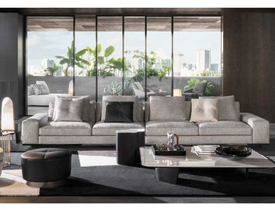 Итальянская мягкая мебель LAWRENCE 07 фабрики MINOTTI