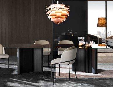Итальянский стол LOU 02 фабрики MINOTTI