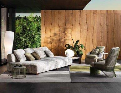 Итальянская мягкая мебель FLORIDA 03 фабрики MINOTTI