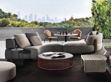 Итальянская мягкая мебель FLORIDA 04 фабрики MINOTTI