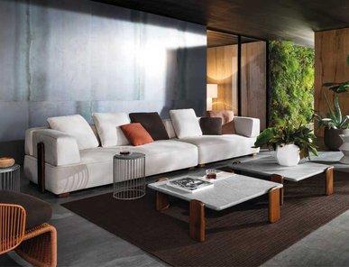 Итальянская мягкая мебель FLORIDA 06 фабрики MINOTTI