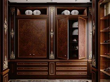 Итальянская гардеробная 9710 фабрики BELLOTTI ESIO