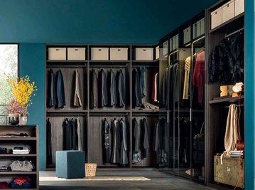 Итальянская гардеробная PIVOT фабрики GIELESSE