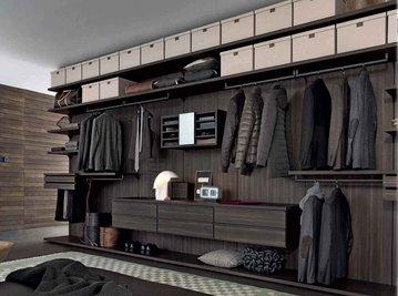 Итальянская гардеробная PIVOT-1 фабрики GIELESSE