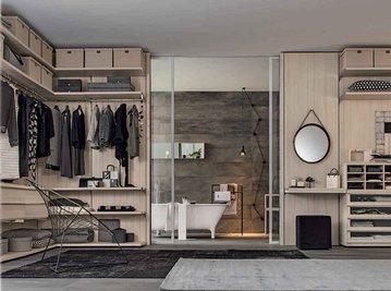 Итальянская гардеробная CABIN фабрики GIELESSE