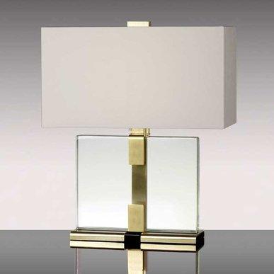 Американская настольная лампа CLARA фабрики DONGHIA