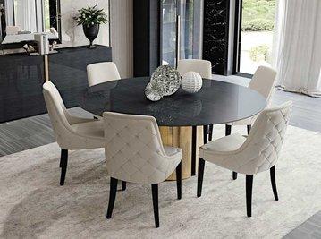 Итальянский круглый стол SECRET LOVE&BEONE фабрики MALERBA
