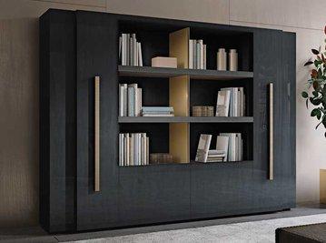 Итальянский книжный шкаф SECRET LOVE&BEONE фабрики MALERBA