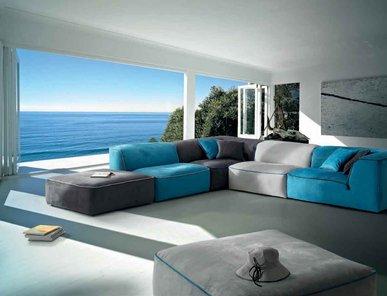 Итальянский диван GRAND BLEU фабрики BONTEMPI CASA