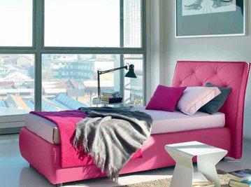 Итальянская кровать JANET-1 фабрики BONTEMPI CASA