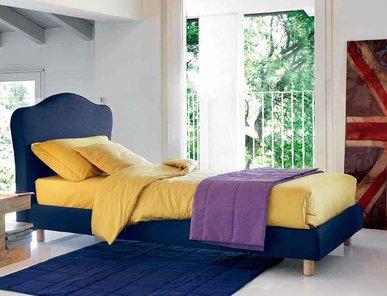 Итальянская кровать Zaffiro012-1 фабрики BONTEMPI CASA