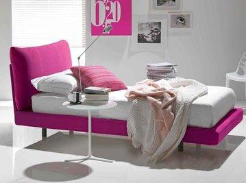 Итальянская кровать TOPAZIO012-2 фабрики BONTEMPI CASA