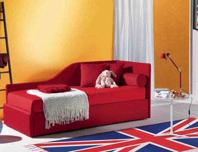 Итальянская кровать DUPLO фабрики BONTEMPI CASA