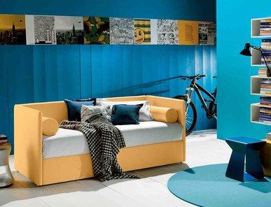 Итальянская кровать DUPLO-1 фабрики BONTEMPI CASA