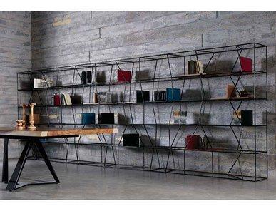 Итальянский книжный шкаф Lexington 01 фабрики BONTEMPI CASA