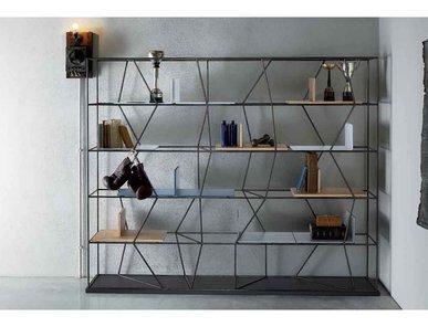 Итальянский книжный шкаф Lexington 05 фабрики BONTEMPI CASA
