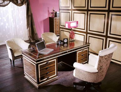 Итальянский письменный стол CAFÈ DES ARTS фабрики BIANCHINI