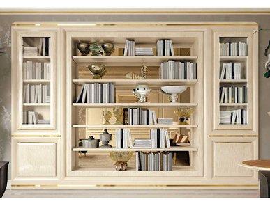 Итальянский книжный шкаф 2166 фабрики REDECO
