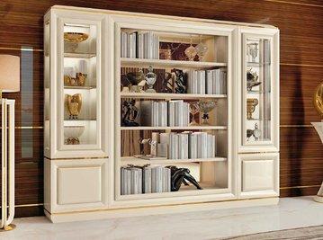 Итальянский книжный шкаф 2179 фабрики REDECO