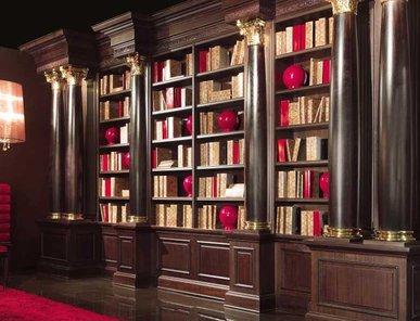 Итальянский книжный шкаф FIDIA 164 фабрики ELLEDUE