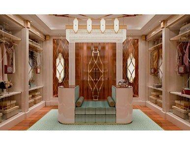 Итальянская гардеробная Men's lounge фабрики BIANCHINI