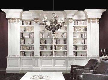 Итальянский книжный шкаф SAFFO фабрики ELLEDUE