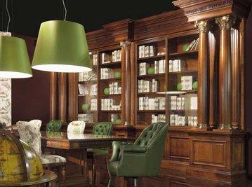Итальянский книжный шкаф FIDIA 163 фабрики ELLEDUE