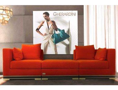 Итальянская мягкая мебель FIESOLE фабрики GHERARDINI HOME