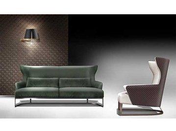 Итальянская мягкая мебель LAPO фабрики GHERARDINI HOME