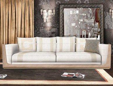 Итальянская мягкая мебель EMMA фабрики GHERARDINI HOME