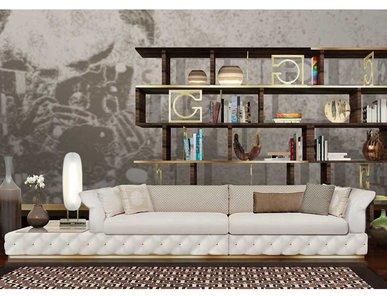 Итальянская мягкая мебель DUCCIO фабрики GHERARDINI HOME