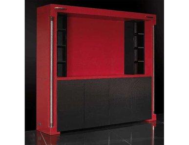 Итальянский книжный шкаф Carbon Touring фабрики TONINO LAMBORGHINI