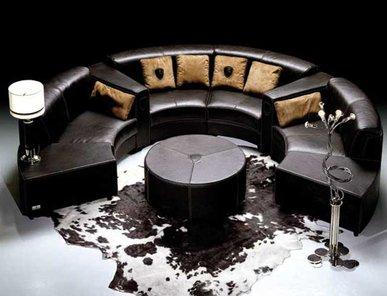 Итальянская мягкая мебель CIRCUIT фабрики TONINO LAMBORGHINI