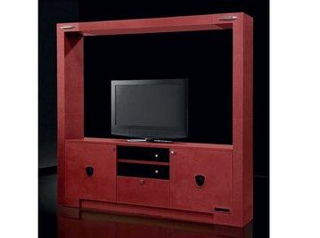 Итальянская мебель для ТВ TOURING HIGH фабрики TONINO LAMBORGHINI
