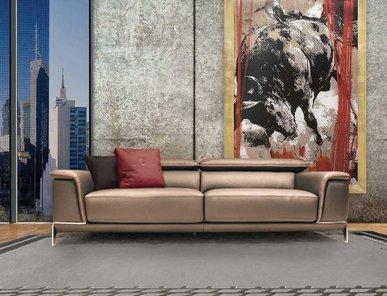 Итальянская мягкая мебель BRAD фабрики TONINO LAMBORGHINI