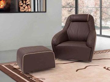 Итальянское кресло JEREZ фабрики TONINO LAMBORGHINI