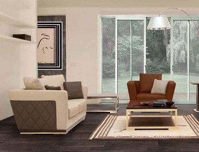 Итальянская мягкая мебель ESTORIL фабрики TONINO LAMBORGHINI