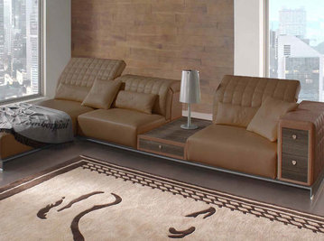 Итальянская мягкая мебель MISANO фабрики TONINO LAMBORGHINI