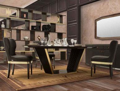 Итальянский стол LONG BEACH LUX фабрики TONINO LAMBORGHINI