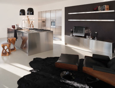 Итальянская кухня SQUARE INOX фабрики XERA
