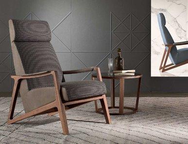 Итальянское кресло BARLEY фабрики I4 MARIANI