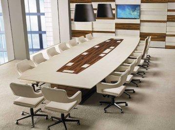 Итальянский стол для совещаний PRESIDENT фабрики I4 MARIANI